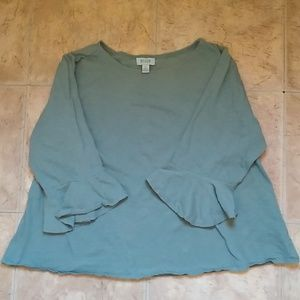 River Shirt with Bell Sleeves